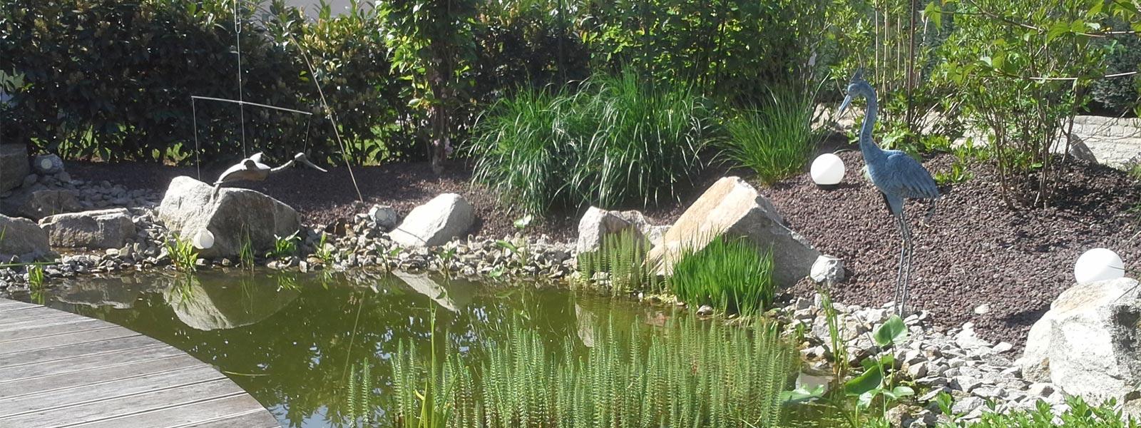 Startseite rommel garten und landschaftsbau for Gartenanlage mit teich